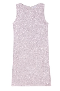 Платье с пайетками розового цвета Stupore Amina Rubinacci
