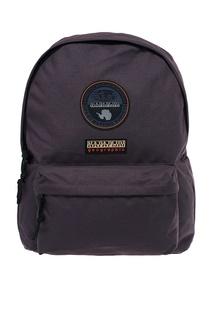 Серый рюкзак с нашивками Napapijri