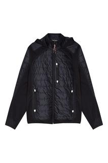 Черная куртка-трансформер Napapijri