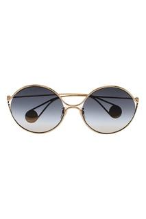 Круглые очки с градиентными линзами Gucci