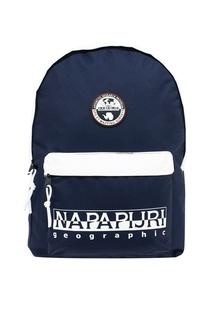 Черный рюкзак с белыми вставками Napapijri