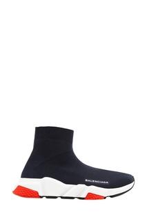Черные текстильные кроссовки Speed Balenciaga