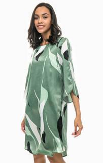 Зеленое платье прямого кроя Vero Moda