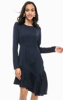 Однотонное платье ассиметричного кроя Vero Moda