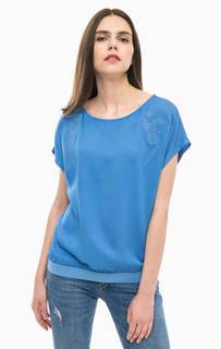 Блуза с цветочной вышивкой Trussardi Jeans