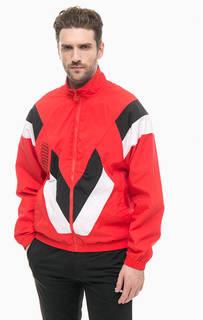Красная куртка с контрастными вставками Puma
