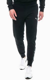 Хлопковые брюки джоггеры Puma