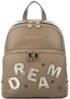 Кожаный рюкзак с нашивками Fiato Dream