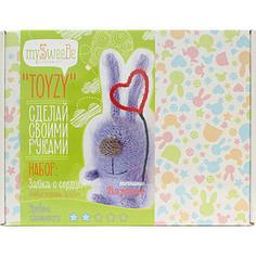 Набор для вязания Toyzy Зайка с сердцем (TZ-K004)