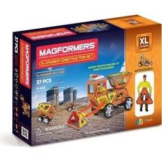 Магнитный конструктор Magformers Набор Круизер Строители (706003 (63080))