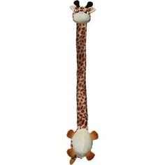 Игрушка KONG Danglers Giraffe Жираф 62см с шуршащей шеей для собак