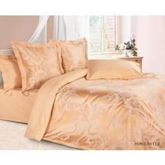 Комплект постельного белья Ecotex 2-х сп, сатин-жаккард, Николетта (КЭМчНиколетта)