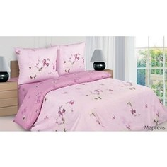 Комплект постельного белья Ecotex 1,5 сп, поплин, Марсель (КП1Марсель)