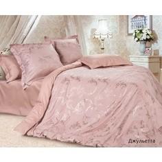 Комплект постельного белья Ecotex Семейный, сатин-жаккард, Джульетта (КЭДчДжульетта)