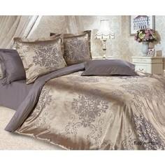Комплект постельного белья Ecotex Семейный, сатин-жаккард, Карингтон (КЭДчКарингтон)