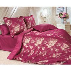 Комплект постельного белья Ecotex Евро, сатин-жаккард, Мерседес (КЭЕМерседес)