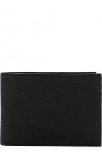 Кожаное портмоне с отделениями для кредитных карт Emporio Armani