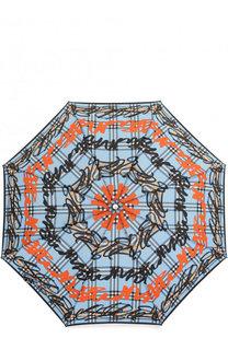 Складной зонт с принтом Burberry
