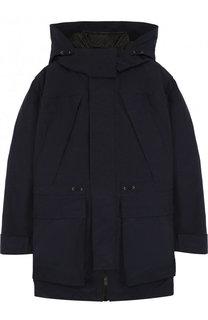Куртка с капюшоном и пуховой подстежкой Burberry