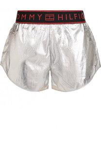 Мини-шорты с эластичным поясом Tommy Hilfiger