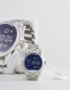 Серебристые строгие часы Michael Michael Kors Bradshaw - Серебряный