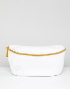 Белая сумка-кошелек на пояс Mi-Pac - Белый