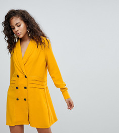 Платье ASOS DESIGN Tall - Желтый