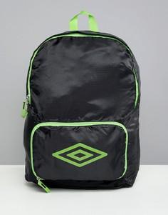 Складываемый рюкзак Umbro - Черный
