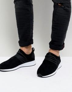 Черные кроссовки из микрофибры Project Delray - Черный