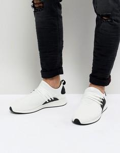 Трикотажные кроссовки Project Delray Wavey - Белый
