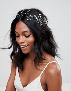 Заколка для волос с камнями ASOS DESIGN Bridal - Серебряный