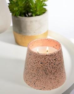 Большая свеча с ароматом пиона и пачули Paddywax Confetti - 14 унций - Мульти