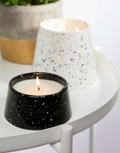 Маленькая свеча с ароматом фиалки и плюмерии Paddywax Confetti - 5 унций - Мульти
