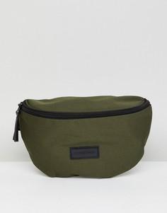 Зеленая сумка-кошелек на пояс Consigned - Зеленый