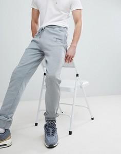 Серые трикотажные джоггеры с логотипом Hackett Mr. Classic - Серый