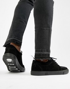 Замшевые кроссовки T.U.K VLK - Черный