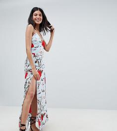 Платье макси с цветочным принтом Parisian Tall - Мульти
