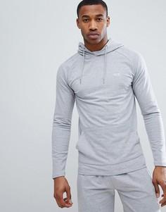 Худи серого цвета с вышивкой boohooMAN - Серый