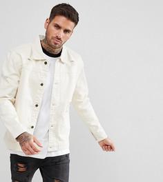 Светло-бежевая джинсовая куртка Brooklyn Supply - Кремовый