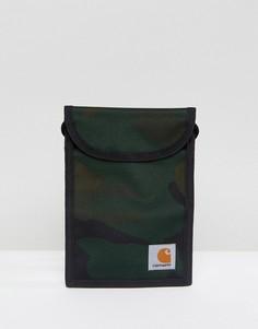 Сумка на шею с камуфляжным принтом Carhartt WIP Collins - Зеленый