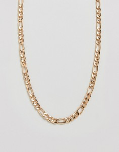 Золотистое ожерелье-цепочка ALDO - Серебряный