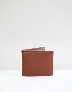 Кожаный бумажник Smith And Canova - Рыжий