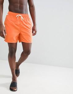 Оранжевые шорты для плавания с небольшим логотипом Penfield - Оранжевый