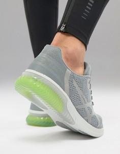 Серые кроссовки Asics Running Gel Kenun T838N-1111 - Серый