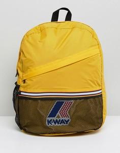 Рюкзак K-Way - Желтый