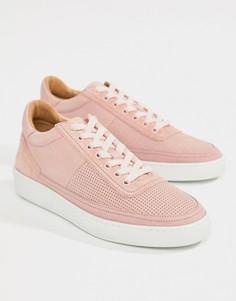 Розовые замшевые кроссовки PS Paul Smith Dizon - Розовый