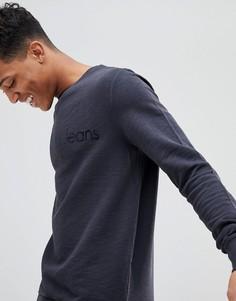 Лонгслив с логотипом Calvin Klein - Серый