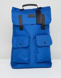 Синий рюкзак с карманом Consigned - Синий