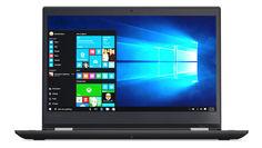 """Ноутбук-трансформер LENOVO ThinkPad Yoga 370, 13.3"""", Intel Core i5 7200U 2.5ГГц, 8Гб, 256Гб SSD, Intel HD Graphics 620, Windows 10 Professional, 20JH002QRT, черный"""
