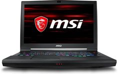 "Ноутбук MSI GT75 Titan 8RG-053RU, 17.3"", Intel Core i7 8750H 2.2ГГц, 16Гб, 1000Гб, 128Гб + 128Гб SSD, nVidia GeForce GTX 1080 - 8192 Мб, Windows 10, 9S7-17A311-053, черный"